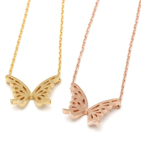 butterfly necklace - girlsluv.it