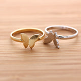 BUTTERFLY ring, 2 colors - girlsluv.it  - 1