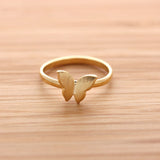 BUTTERFLY ring, 2 colors - girlsluv.it  - 2