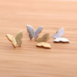 BUTTERFLY stud earrings, 2 colors - girlsluv.it  - 3