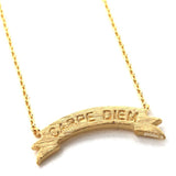 carpe diem necklace - girlsluv.it  - 1