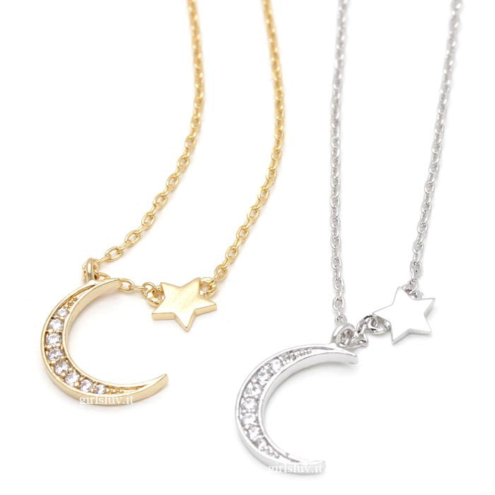 crest and star necklace - girlsluv.it  - 1