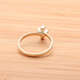 simple tiny CROSS adjustable ring, 3 colors - girlsluv.it  - 3