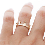sterling silver, tiara ring - girlsluv.it  - 4