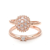 crystal ball knuckle ring - girlsluv.it  - 2