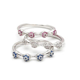 ruby ring, sapphire ring, crystal ring - girlsluv.it  - 1
