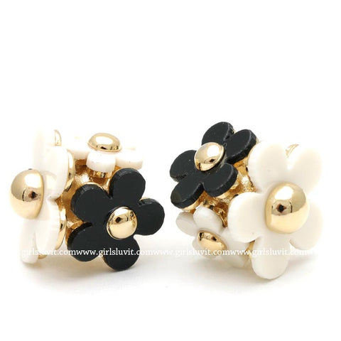 daisy ball earrings - girlsluv.it