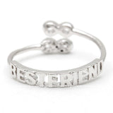 best friends infinity ring, adjustable - girlsluv.it  - 8