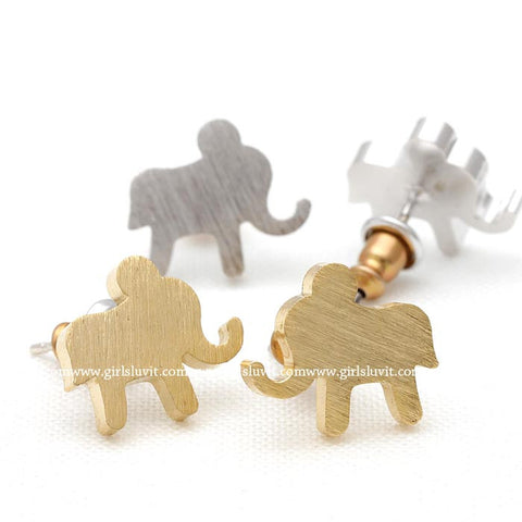 elephant earrings - girlsluv.it  - 1