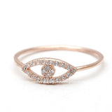 eye ring, crystals - girlsluv.it  - 2