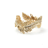 Girlsluvit, Feather Ring, Adjustable, 2 Colors