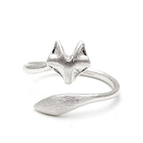fox ring, adjustable - girlsluv.it  - 2