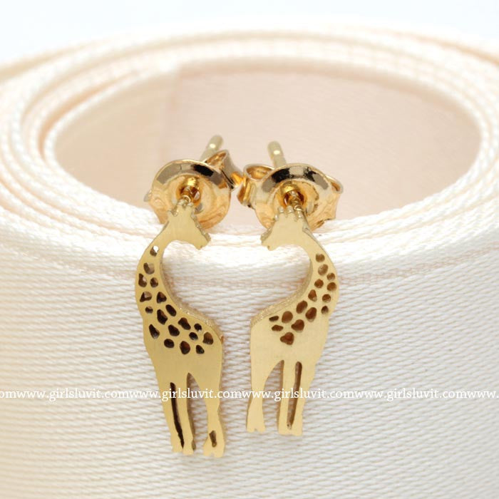 giraffe earrings - girlsluv.it