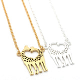 giraffe necklace - girlsluv.it  - 2