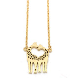 giraffe necklace - girlsluv.it  - 1