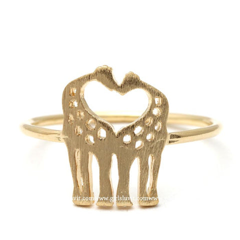 giraffe ring - girlsluv.it
