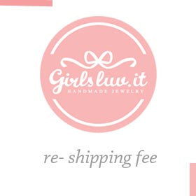 re-shipping fee - girlsluv.it  - 1