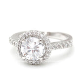 halo engagement ring with cushion - girlsluv.it  - 1
