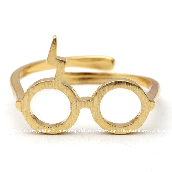 harry potter ring, adjustable - girlsluv.it  - 1