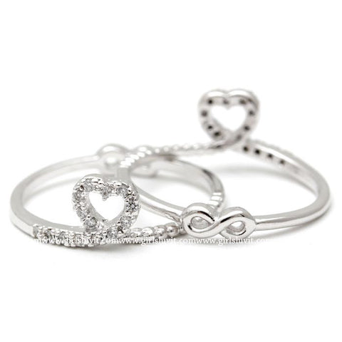 heart and infinity ring - girlsluv.it  - 1
