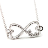heart and infinity bracelet - girlsluv.it  - 2