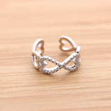 infinity heart ring - girlsluv.it  - 4