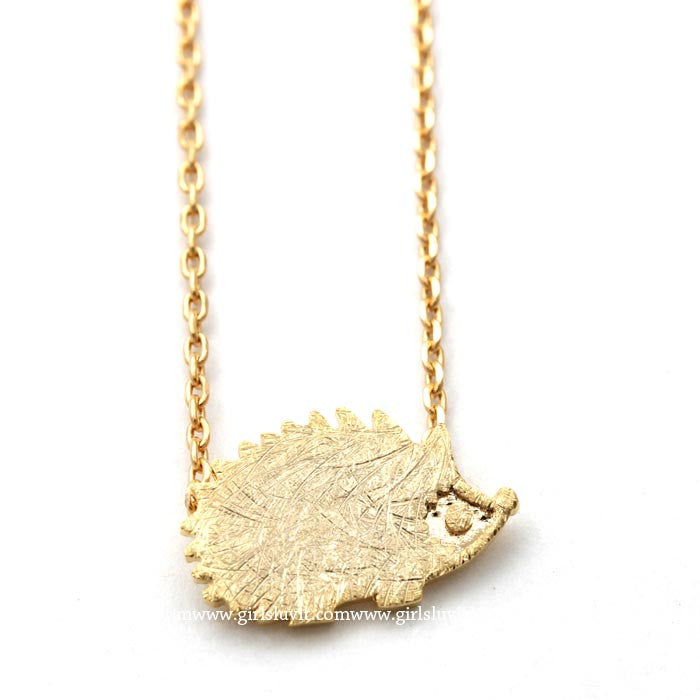 hedgehog necklace - girlsluv.it