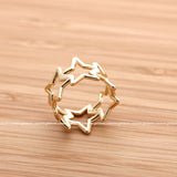 open star thumb ring - girlsluv.it  - 2