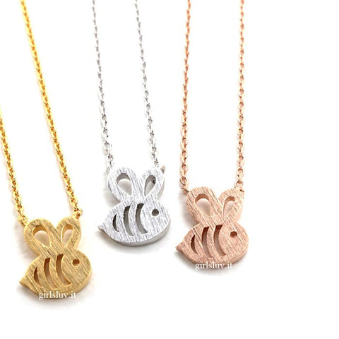 bee necklace - girlsluv.it