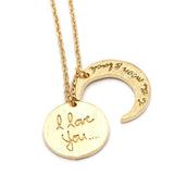 i love you and to the moon and back necklace - girlsluv.it  - 3