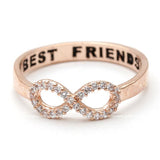 infinity best friends ring, crystals - girlsluv.it  - 2