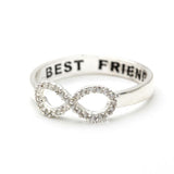 infinity best friends ring, crystals - girlsluv.it  - 4