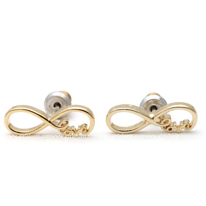 infinity love earrings - girlsluv.it  - 1