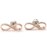 infinity love earrings - girlsluv.it  - 2