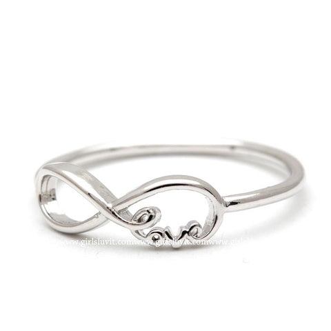 infinity love ring - girlsluv.it  - 1