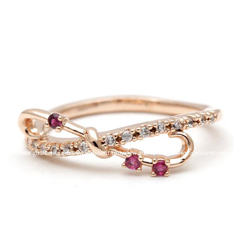 infinity ring, ruby - girlsluv.it  - 1