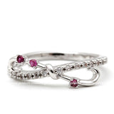 infinity ring, ruby - girlsluv.it  - 2