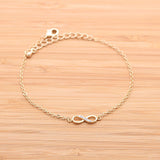 INFINITY with crystals bracelet, 2 colors - girlsluv.it  - 2