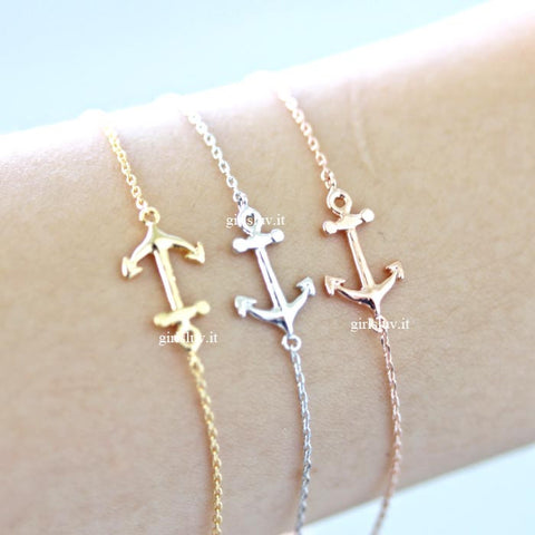 anchor bracelet - girlsluv.it