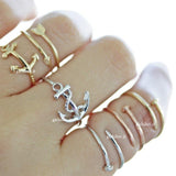 anchor ring, twisted - girlsluv.it  - 3
