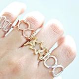 open star thumb ring - girlsluv.it  - 5