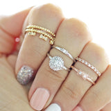 ribbon knuckle ring, crystals - girlsluv.it  - 3