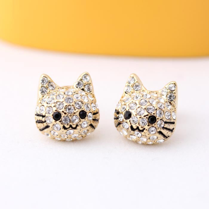 cat earrings - girlsluv.it