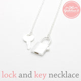 lock and key necklace - girlsluv.it  - 2