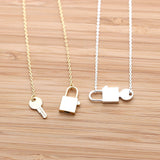 lock and key necklace - girlsluv.it  - 3