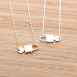 lock and key necklace - girlsluv.it  - 4