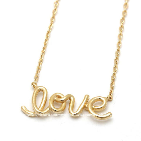 love necklace, wired - girlsluv.it  - 1