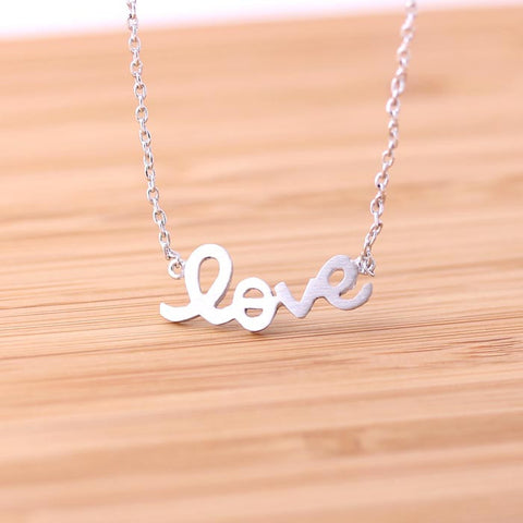 love necklace, handwritten - girlsluv.it  - 1