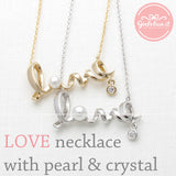 love necklace, pearl - girlsluv.it  - 3