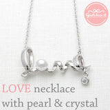 love necklace, pearl - girlsluv.it  - 2